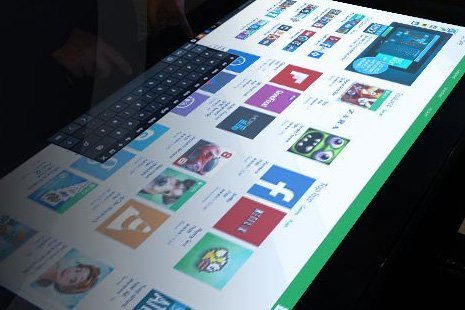 Software Touchscreen Table - D-Table