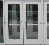 Aluminum Door: Wide Stile Aluminum Door