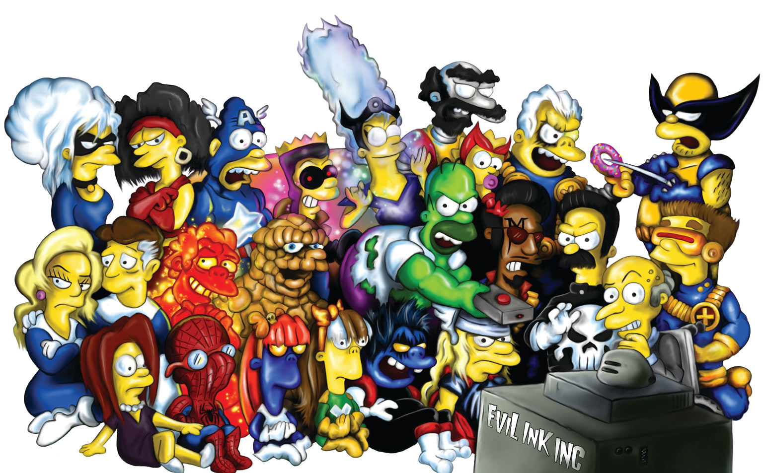 Cute Man Pictures Wallpaper Fan Art Friday The Simpsons By Techgnotic On Deviantart