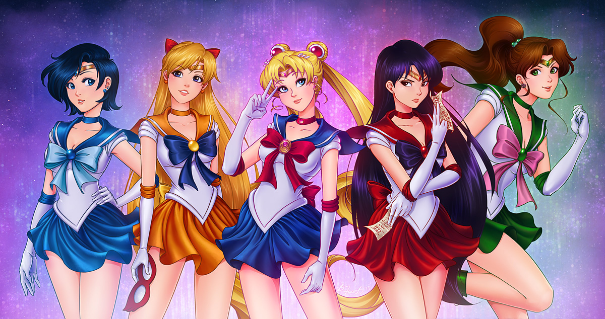 Fight Like A Girl Computer Wallpaper Fan Art Friday Sailor Moon By Techgnotic On Deviantart