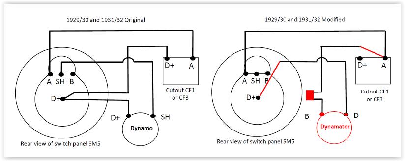 Austin Seven Wiring Diagram Electrical Circuit Electrical Wiring