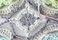 Secret Garden Crochet Shawl tutorial: Part II