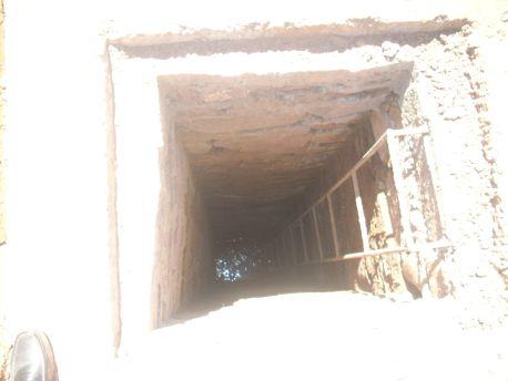 العثور على جثة مسنة داخل بئر منزلها بقلعة امكونة