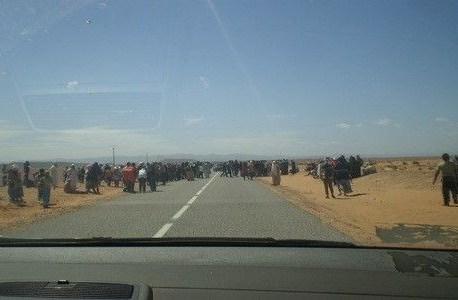 سكان قرية تيزكاغين بتنجداد يحتجون لحرمانهم من برنامج تيسير