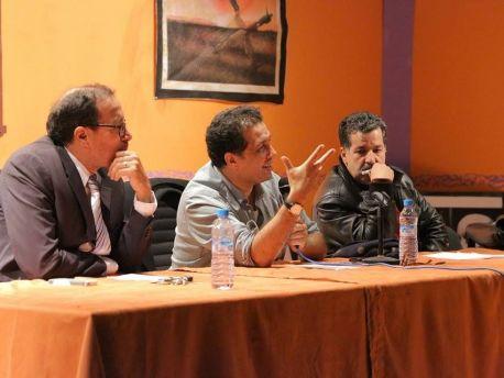 المخرج نور الدين الخماري بكلية المتعددة التخصصات بورزازات