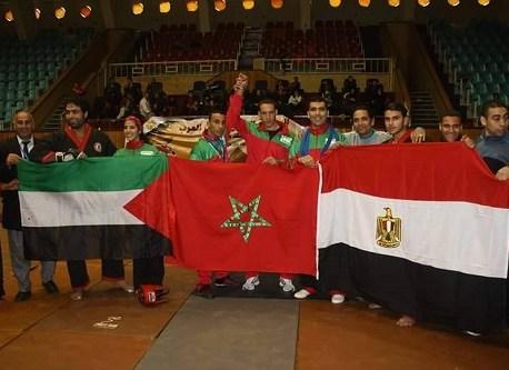 أولمامون من بومالن دادس ينتزع لقب بطل العرب بمصر في رياضة «Arab Dragon»