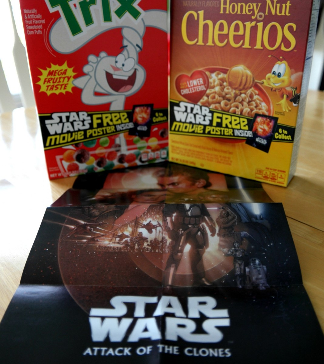 Star Wars & Cereal - Nothing Better!