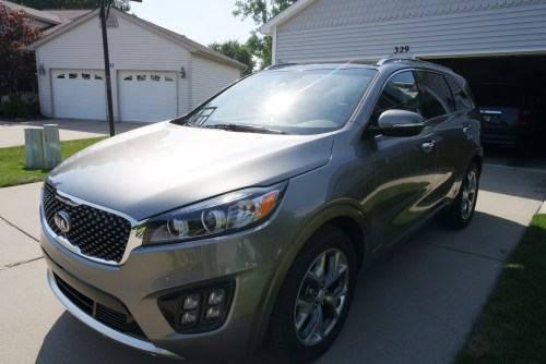 The 2016 Kia Sorento offers space, safety and comfort for all families