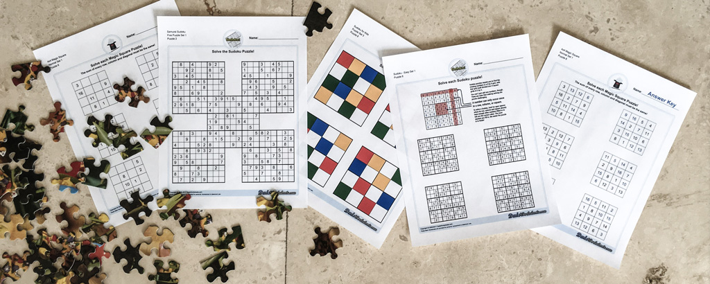Are You Ready for These Logic Puzzles? DadsWorksheets