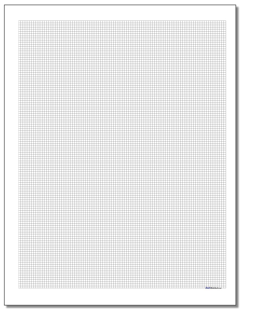 coordinate plain graph paper