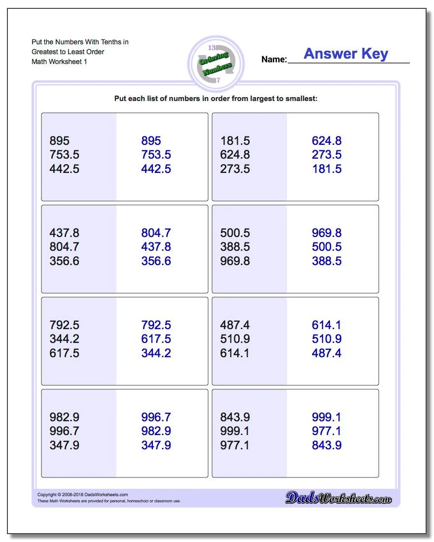 Uncategorized Ordering Fractions From Least To Greatest Worksheet order fractions and decimals calculator least to greatest ordering numbers worksheet place value with download