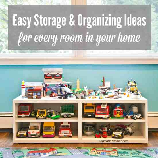 organizing ideas for every room