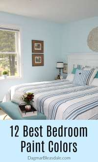 The 12 Most Stunning and Best Bedroom Paint Color Ideas