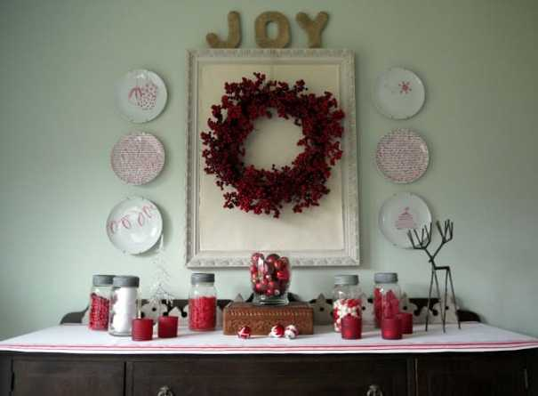 DIY sharpie art plates for Christmas, DagmarBleasdale.com