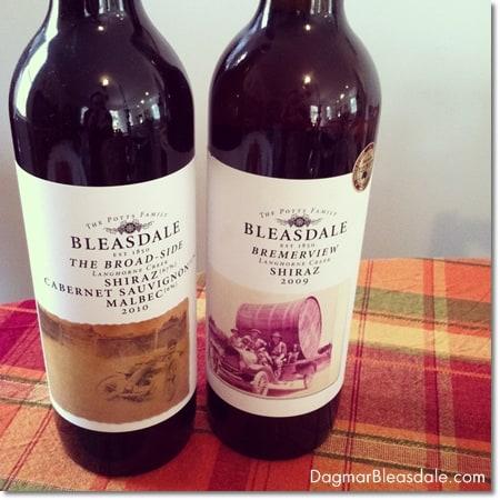 Bleasdale wine from Australia