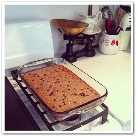 healthy almond cake recipe