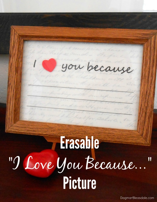 """""""I love you because"""" picture, DagmarBleasdale.com"""