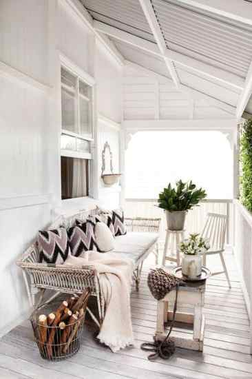 white porch ideas