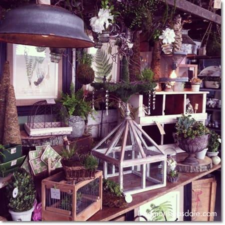 gardening decor at Country Living Fair 2014