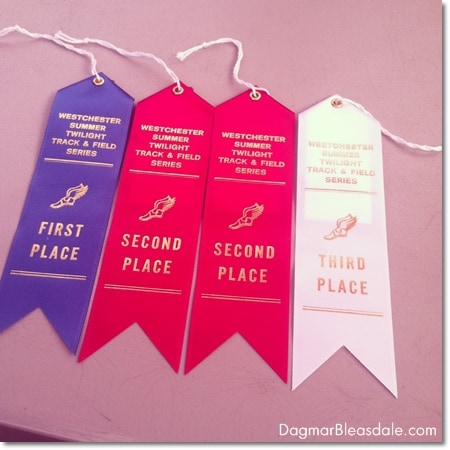 ribbons for running races