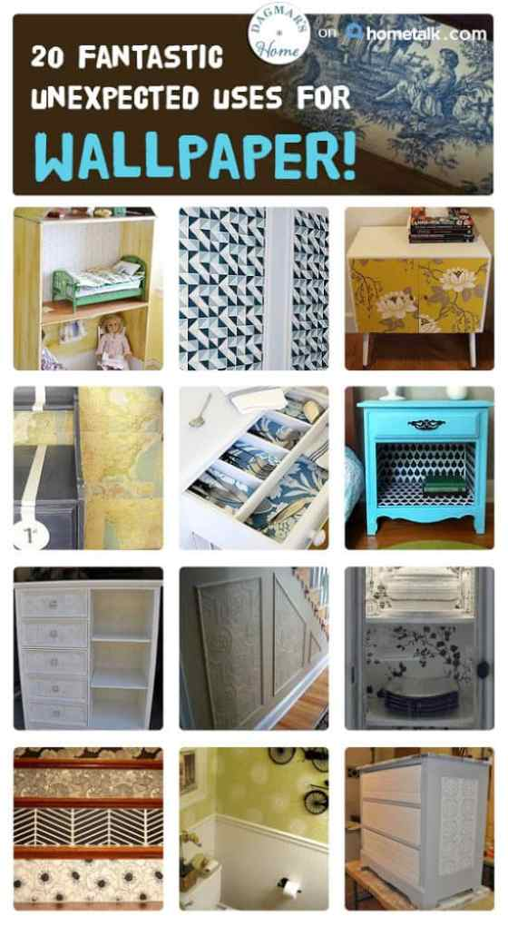 Hometalk: 20 wallpaper ideas curated by Dagmar's Home