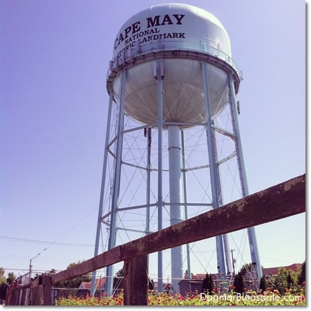 Cape May water tower