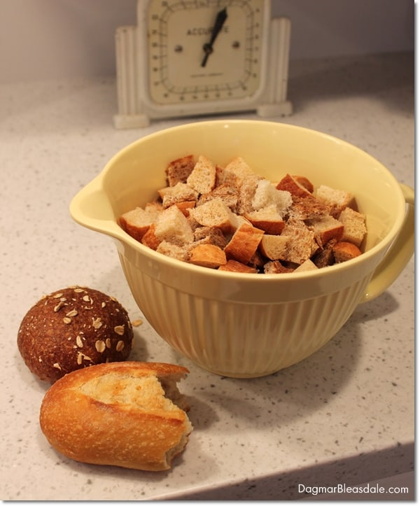 easy bread pudding recipe with stale bread and ripe banana