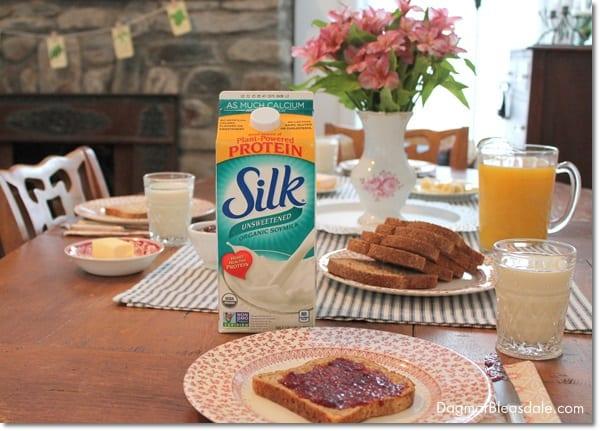 Silk original soymilk