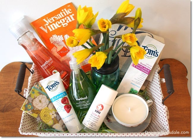 """""""Green Your Home"""" Gift Basket"""