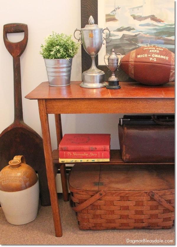 vintage picnic basket, DagmarBleasdale.com