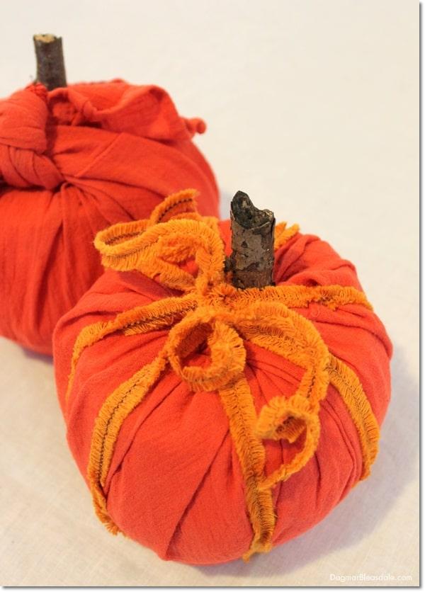 DIY toilet paper roll pumpkin, DagmarBleasdale.com
