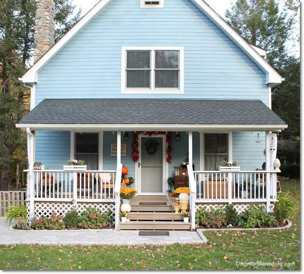 Blue Cottage Fall Home Tour 2015, DagmarBleasdale.com