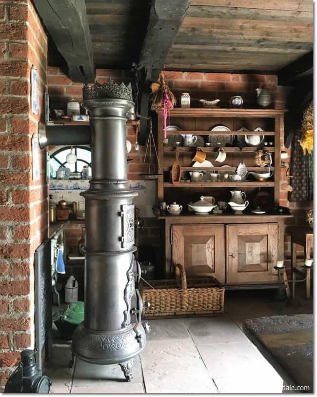 Farmhouse Design With Faux Wood Beams Faux Stone Panels Dagmar 39 S Home