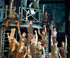 Newsies-cast