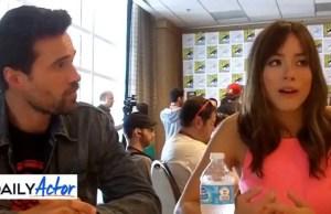 Interview: Brett Dalton and Chloe Bennett Talk 'Agents of S.H.I.E.L.D' (video)