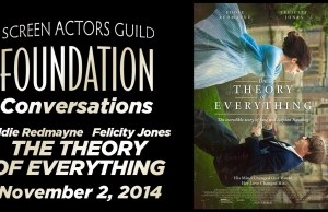 Watch: The SAG Foundations Conversation with Eddie Redmayne and Felicity Jones on 'The Theory of Everything'