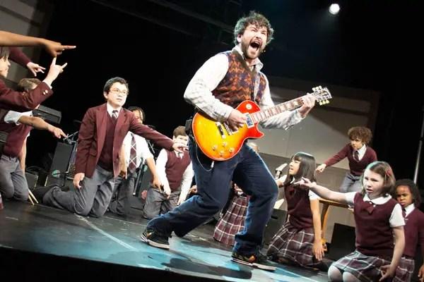 Alex Brightman School of Rock Audition
