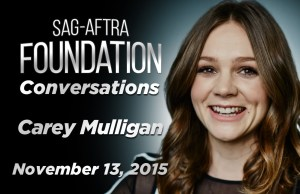 Watch: Conversations with 'Suffragette' Star Carey Mulligan