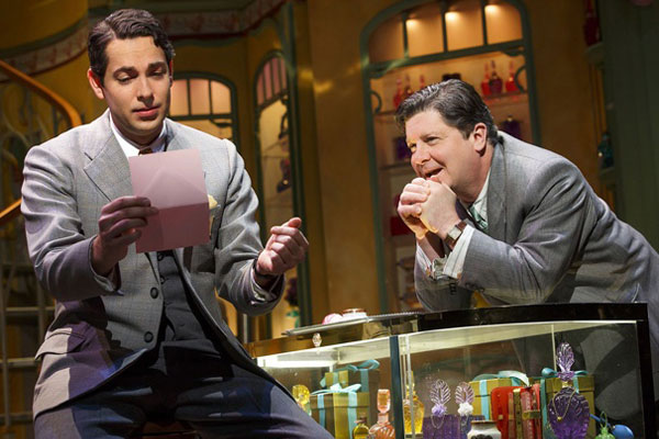 Zachary Levi in 'She Loves Me' on Broadway