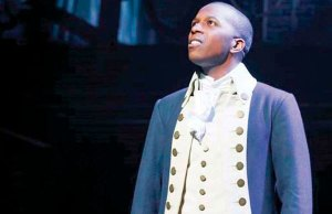 Leslie Odom Jr. in Hamilton