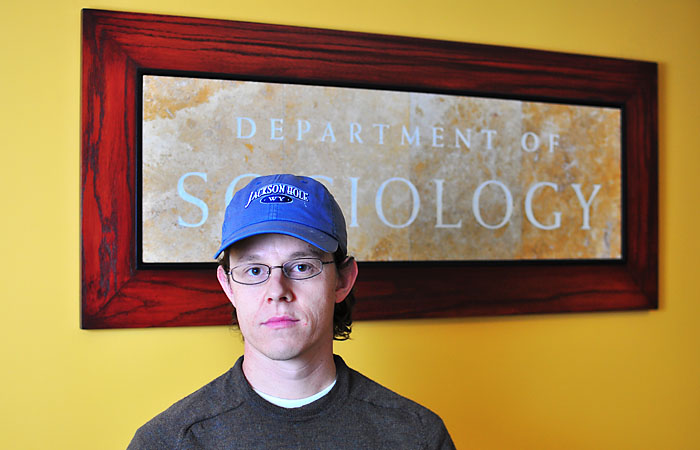 Graduate student Charlie Eaton, financial secretary for UAW Local 2865, expressed displeasure at the imminent elimination of subsidies for Stafford loan interest.