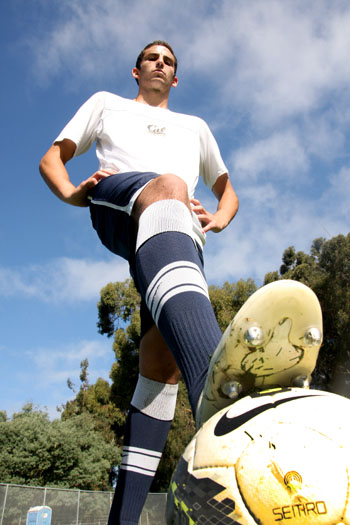Feature photo of Steve Birnbaum of the Men's Soccer Team