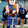 Scotty the Scotsman didn't seem to have a very good time in Presbyterian's 63-12 loss.