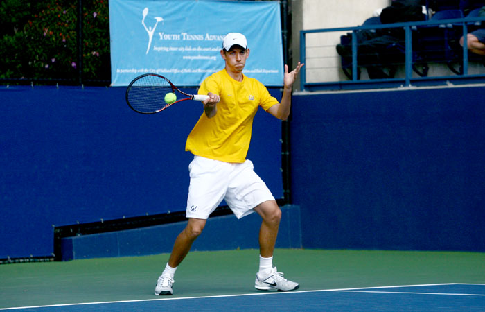 Junior Christoffer Konigsfeldt began singles qualification on Monday.