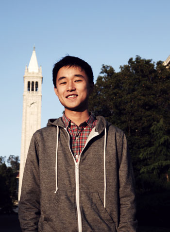 Ju Hong, an undocumented UC Berkeley senior and a CalSERVE senator, came to the United States from South Korea at age 11 on his tourist visa, which has since expired.