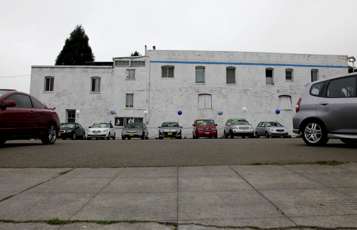 The Honda sales lot, located on Shattuck Avenue, is slated to become a five-story building with commercial space.