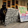 Protesters affiliated with the Occupy Berkeley movement appeared at Tuesday evening's Berkeley City Council meeting.