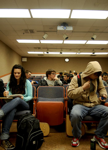 Engineering classes, including Mechanical Engineering C85, have lower numbers of female students.