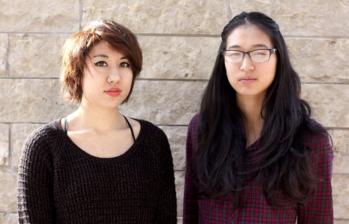 UC Berkeley seniors Laurel Chun, left, and Katherine Kim were among those displaced by the Nov. 18 fire.
