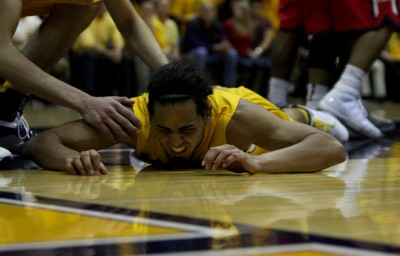 Jorge Gutierrez likely lost his frontrunner status for Pac-12 Player of the Year after going scoreless Sunday in a Cal loss at Colorado.